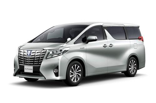 1. Toyota Alphard (doanh số: 2 chiếc).