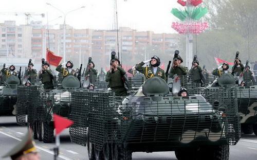Xe bọc thép chở quân BTR-70MB1 của Belarus. Ảnh: Topwar.