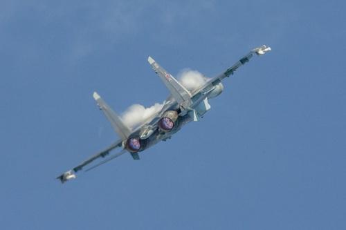 Chuyên gia quân sự Nga cho rằng JAS 39 Gripen không phải đối thủ của Su-30 và Su-35. Ảnh: Avia-pro.