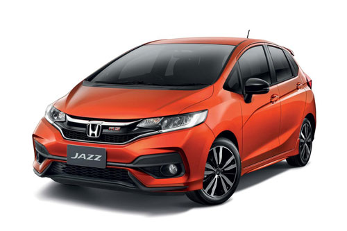 2. Honda Jazz (doanh số: 3 chiếc).