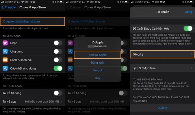 2 cách hủy chương trình dùng thử ứng dụng trên iOS để tránh bị trừ tiền oan