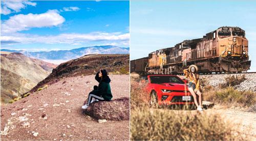 Dù là mảnh đất khô cằn, thung lũng Chết vẫn trở thành điểm du lịch hút khách nhờ cảnh quan tuyệt đẹp. Đây là nơi khiến bạn không khỏi bất ngờ trước sắc màu của cồn cát biến đổi kỳ ảo vào từng thời điểm trong ngày. Đặc biệt, những thảm hoa dại bung nở ngoạn mục theo chu kỳ khoảng 10 năm cũng mang lại vẻ đẹp thiên nhiên mãnh liệt. Ảnh: Naz_bokhari, Markovsky.