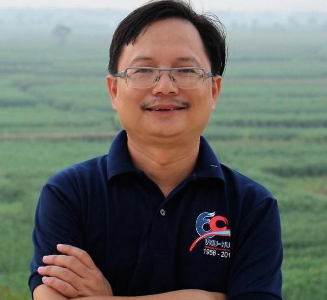 PGS.TSKH Vũ Hoàng Linh - Hiệu trưởng trường Đại học Khoa học Tự nhiên - Đại học Quốc gia Hà Nội.