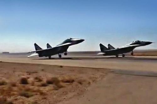 Tiêm kích MiG-29 của Không quân Syria. Ảnh: Avia-pro.