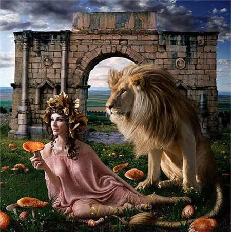 Hình ảnh mô phỏng hoàng hậu tàn độc Agripina.