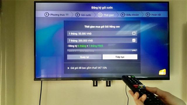 Hỗ trợ khách hàng mùa dịch, MyTV ra mắt tiện ích thanh toán trả trước trực tiếp qua ứng dụng trên Smart TV - Ảnh 2.