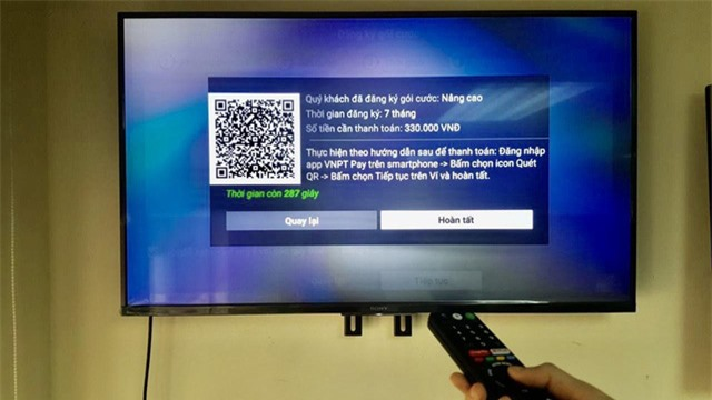 Hỗ trợ khách hàng mùa dịch, MyTV ra mắt tiện ích thanh toán trả trước trực tiếp qua ứng dụng trên Smart TV - Ảnh 3.