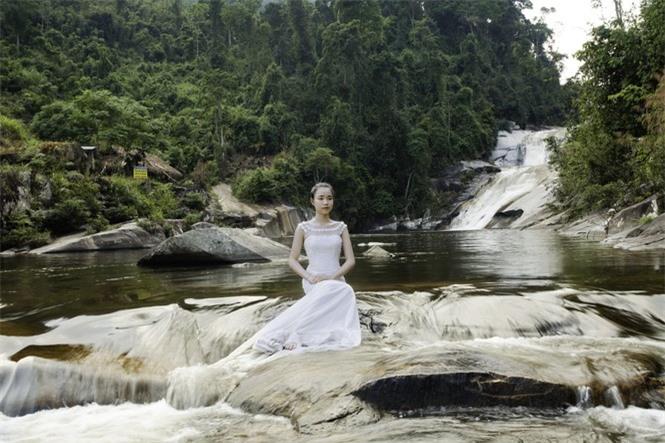 Kỳ vĩ quần thể thác Bảy tầng ở biên giới Việt - Lào - ảnh 6
