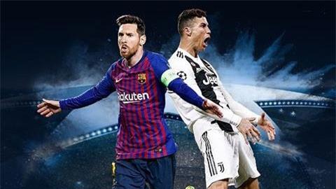 Ronaldo bày tỏ sự ngưỡng mộ tới... Messi