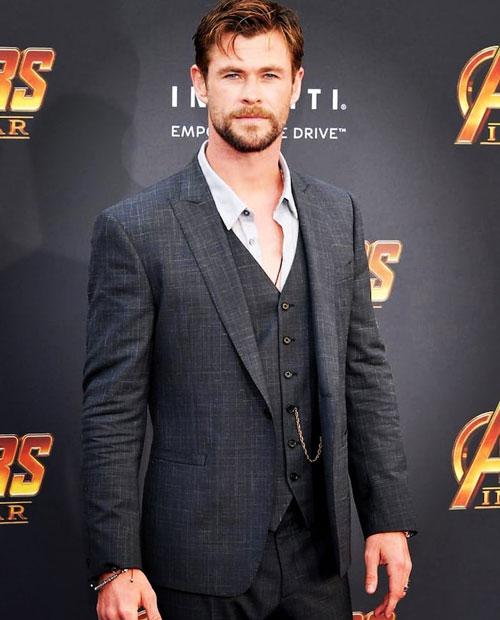 5. Chris Hemsworth