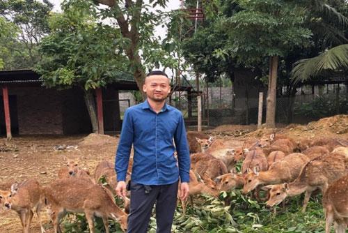 Đam mê đã đưa anh Phạm Văn Kiên trở thành ông chủ trang trại.