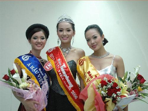 Top 3 Hoa hậu Việt Nam 2006.