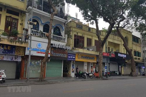 Giá mặt bằng kinh doanh tại Hà Nội giảm từ 20 - 30% (Ảnh Internet)