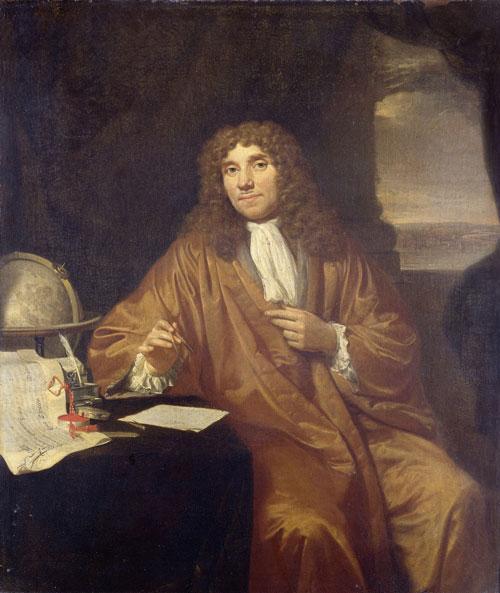 Anton van Leeuwenhoek (1632-1723). Ảnh: Wikimedia.