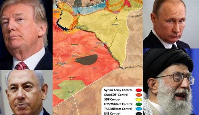 Giãy dụa trong bàn tay phù thủy của Nga, Mỹ-Israel tính tung quân ép chết Iran ở Syria? - Ảnh 7.