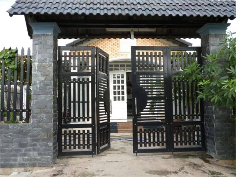 Thiết kế cổng nhà đúng phong thủy đón tài lộc vào nhà