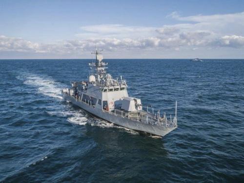 Chiếc tàu tấn công nhanh PKX-B-class thứ hai của RoKN (với số hiệu là 212). Ảnh: Hải quân Hàn Quốc.