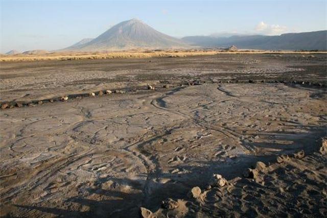 Phát hiện hàng trăm dấu chân hóa thạch cực hiếm của người cổ đại ở châu Phi - 1