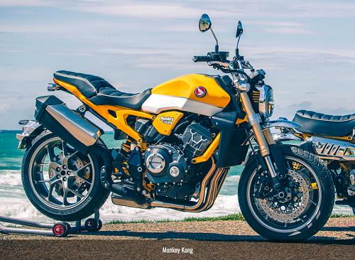 Honda CB1000R phong cách xế khỉ