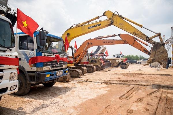 Dự án khu công nghiệp Việt Phát được động thổ, khởi công vào ngày 17/5/2020.