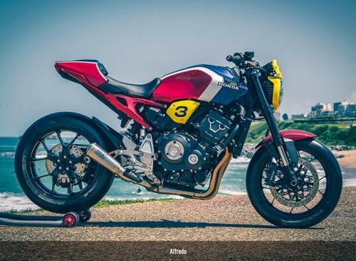 Honda CB1000R phong cách xe đua