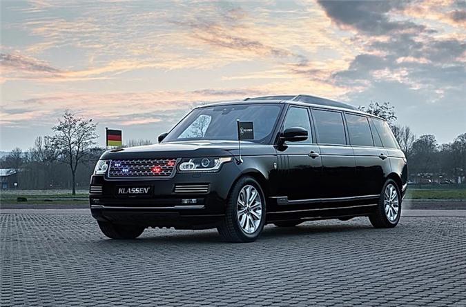 Range Rover SVAutobiography.