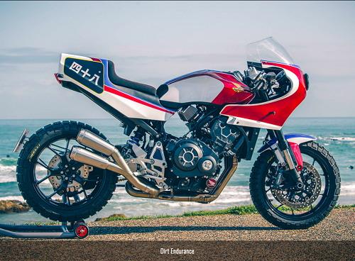 Honda CB1000R phong cách Dirt Endurance
