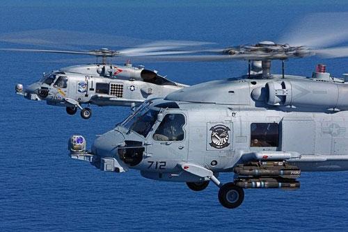 Mỹ đẩy nhanh chuyển giao trực thăng săn ngầm cho Ấn Độ.
