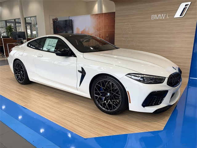 BMW M8 Competition Coupe.
