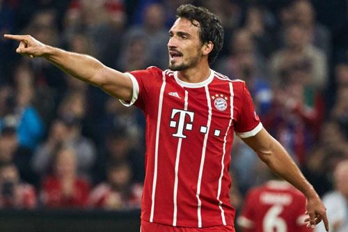 =7. Mats Hummels (Bayern Munich mua từ Dortmund năm 2016, với giá 35 triệu euro).