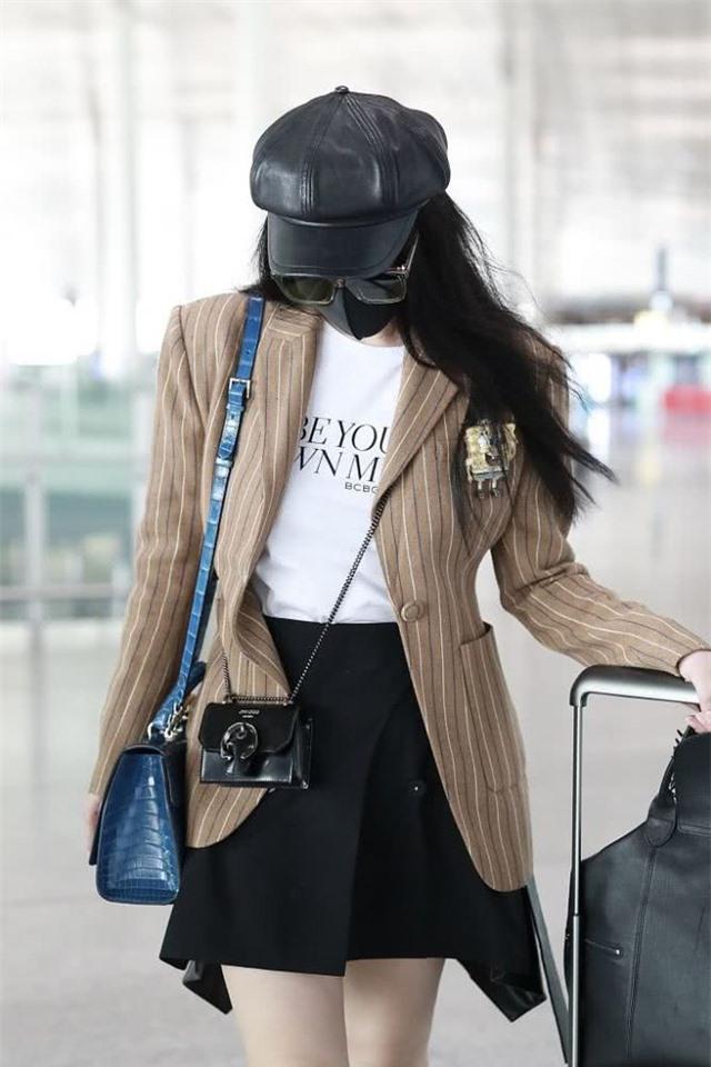Phạm Băng Băng xuất hiện thần thái và cuốn hút tại sân bay - 8