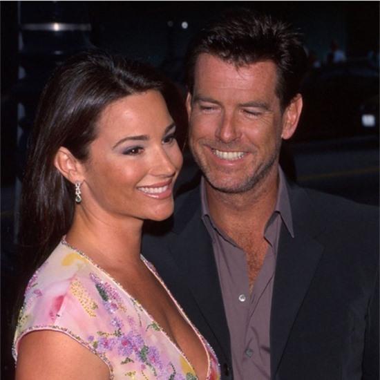 Pierce đăng bức ảnh thời trẻ của anh và Keely khi kỷ niệm 19 năm ngày cưới.