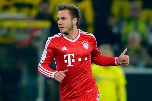 6. Mario Gotze (Bayern Munich mua từ Dortmund năm 2013, với giá 37 triệu euro).