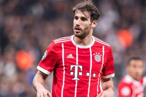 4. Javi Martinez (Bayern Munich mua từ Athletic Bilbao năm 2012, với giá 40 triệu euro).