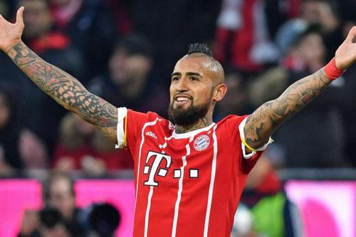 5. Arturo Vidal (Bayern Munich mua từ Juventus năm 2015, với giá 38 triệu euro).
