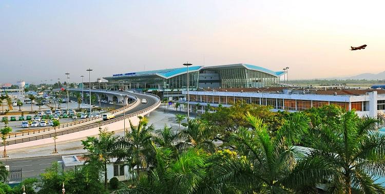 Toàn cảnh Sân bay quốc tế Đà Nẵng (Ảnh: ST)