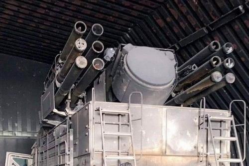 Hệ thống Pantsir-S1E của LNA bị thu giữ. Ảnh: Al Masdar News.