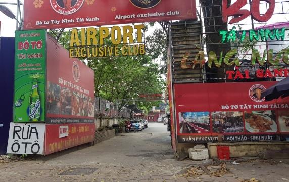 Chủ tịch UBND TP Hà Nội được yêu cầu báo cáo xử lý sai phạm tại bar Airport Chùa Bộc trước 15/6/2020.