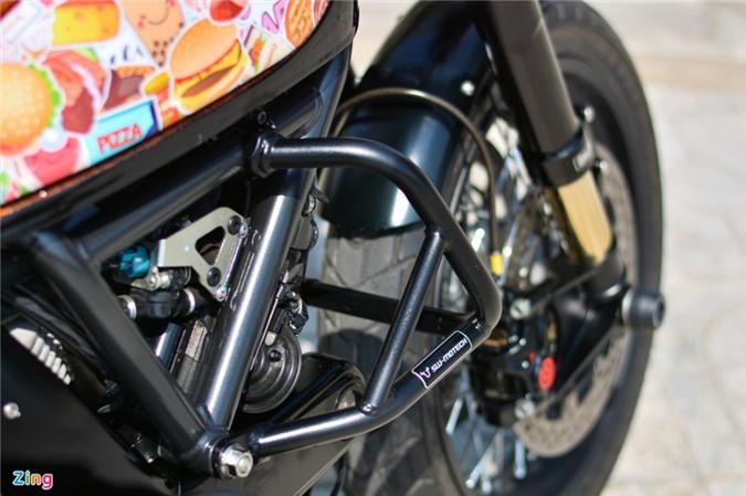 Ducati Scrambler lột xác với gói độ 200 triệu của biker Hà Nội ảnh 11