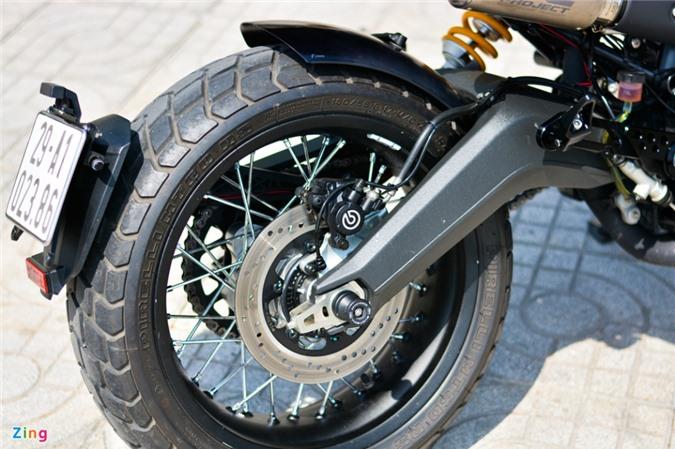Ducati Scrambler lột xác với gói độ 200 triệu của biker Hà Nội ảnh 14