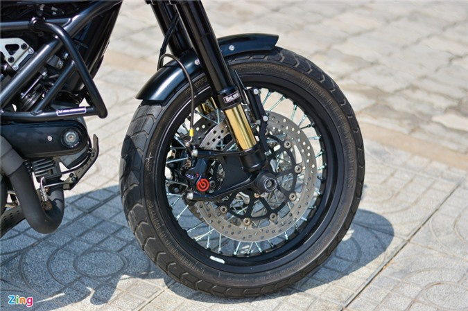 Ducati Scrambler lột xác với gói độ 200 triệu của biker Hà Nội ảnh 06
