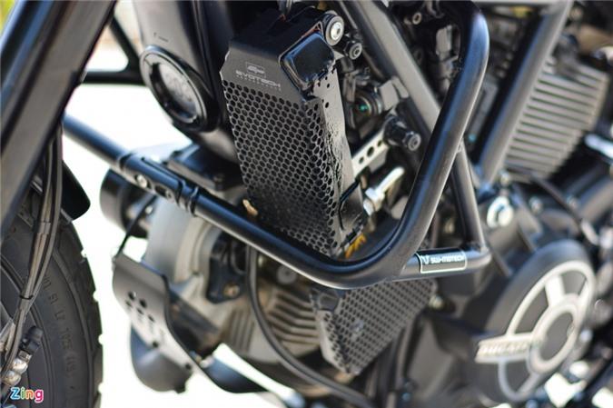 Ducati Scrambler lột xác với gói độ 200 triệu của biker Hà Nội ảnh 08