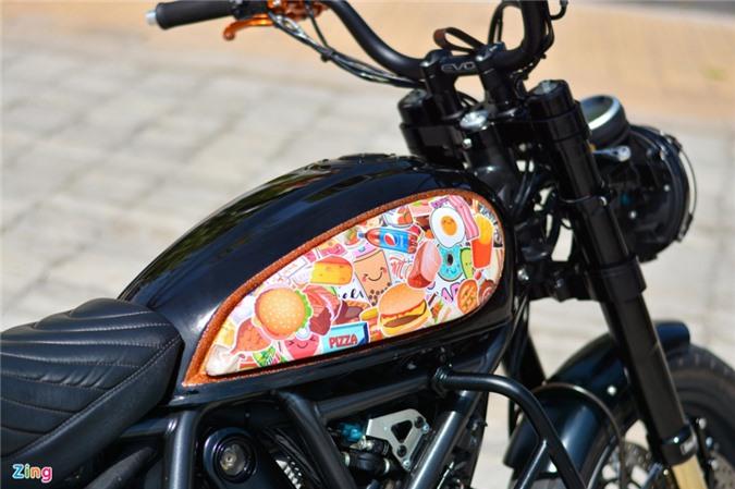 Ducati Scrambler lột xác với gói độ 200 triệu của biker Hà Nội ảnh 09