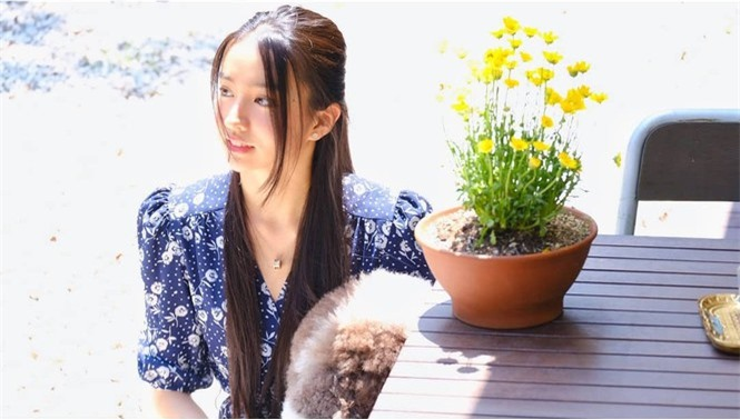 Vẻ đẹp trong veo như nàng thơ của người mẫu 17 tuổi Nhật Bản - ảnh 4