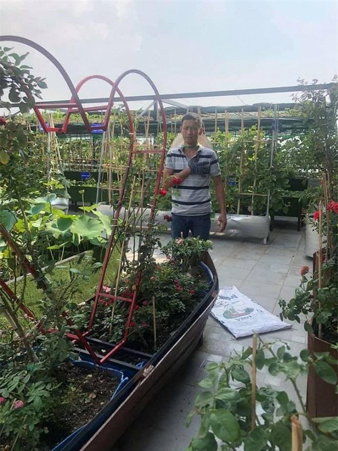 sân vườn trên sân thượng 12