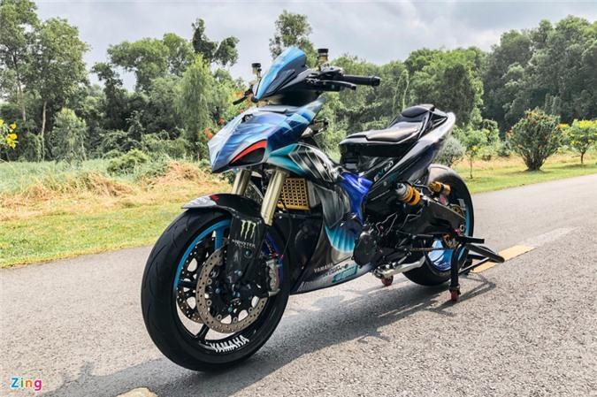 Yamaha Exciter độ phong cách Ducati Panigale V4 của biker Quảng Ngãi ảnh 01