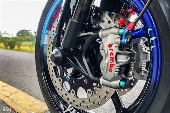 Yamaha Exciter độ phong cách Ducati Panigale V4 của biker Quảng Ngãi ảnh 10