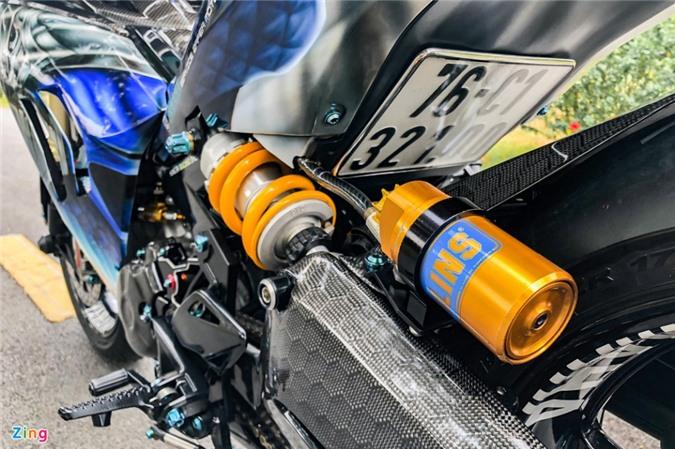 Yamaha Exciter độ phong cách Ducati Panigale V4 của biker Quảng Ngãi ảnh 11