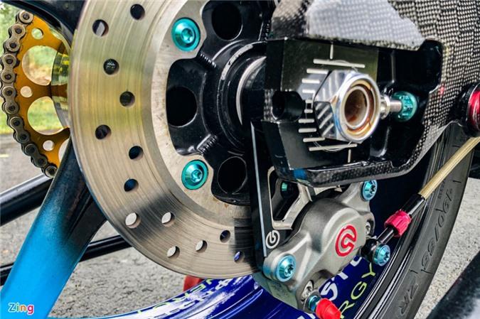 Yamaha Exciter độ phong cách Ducati Panigale V4 của biker Quảng Ngãi ảnh 12