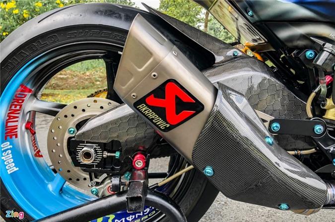 Yamaha Exciter độ phong cách Ducati Panigale V4 của biker Quảng Ngãi ảnh 15